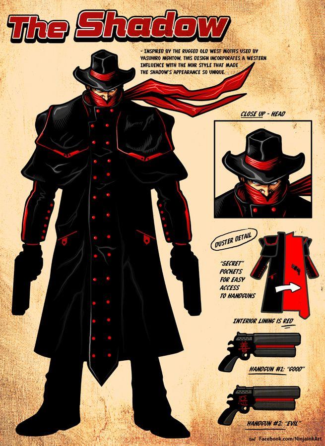 the shadow redesign by ninjaink deviantart com