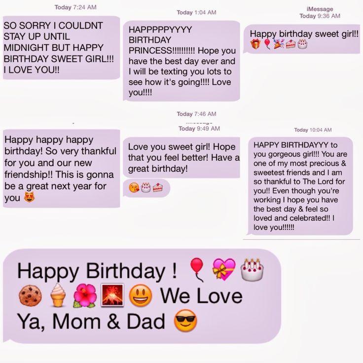 Best 20 Birthday Text Message - Thinking Meme