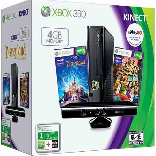 Xbox 360 4gb Game System With Kinect From Toys R Us For 199 Gift