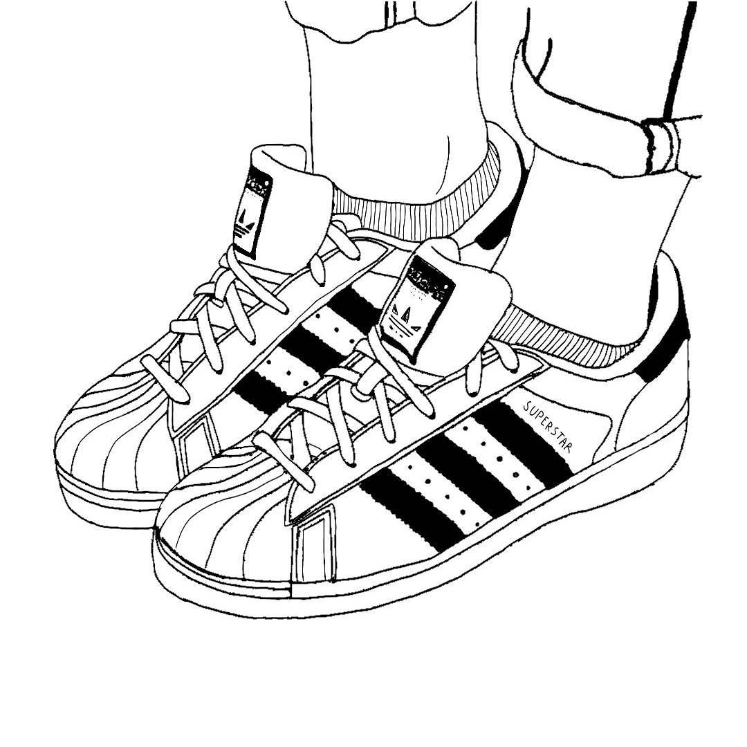 #tumblr #goals #Adidas #superstars #superstar #tumblroutlines #outlines  #request