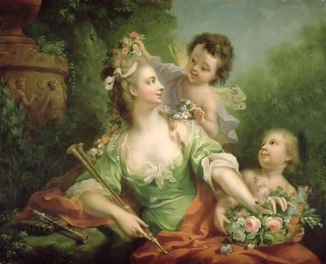 Elder Tischbein Euterpe Muse Of Music Tags Euterpe Muses Marie Antoinette Painting Muse Of Music