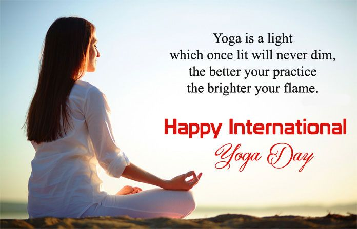 """""""Yoga gives the Perfect platform to explore in deep about"""