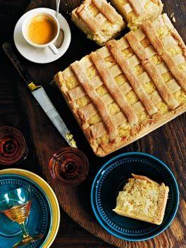 Torta di riso (sweet rice pie).