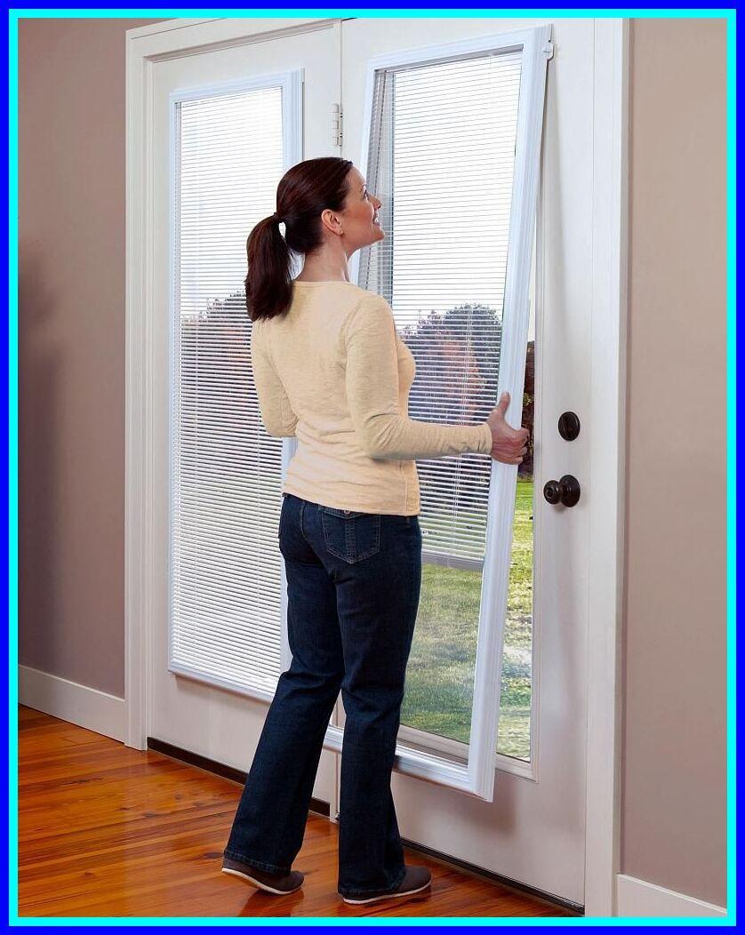 38 Reference Of Venetian Blind Door Inserts In 2020 Blinds For French Doors Door Coverings French Door Window Treatments