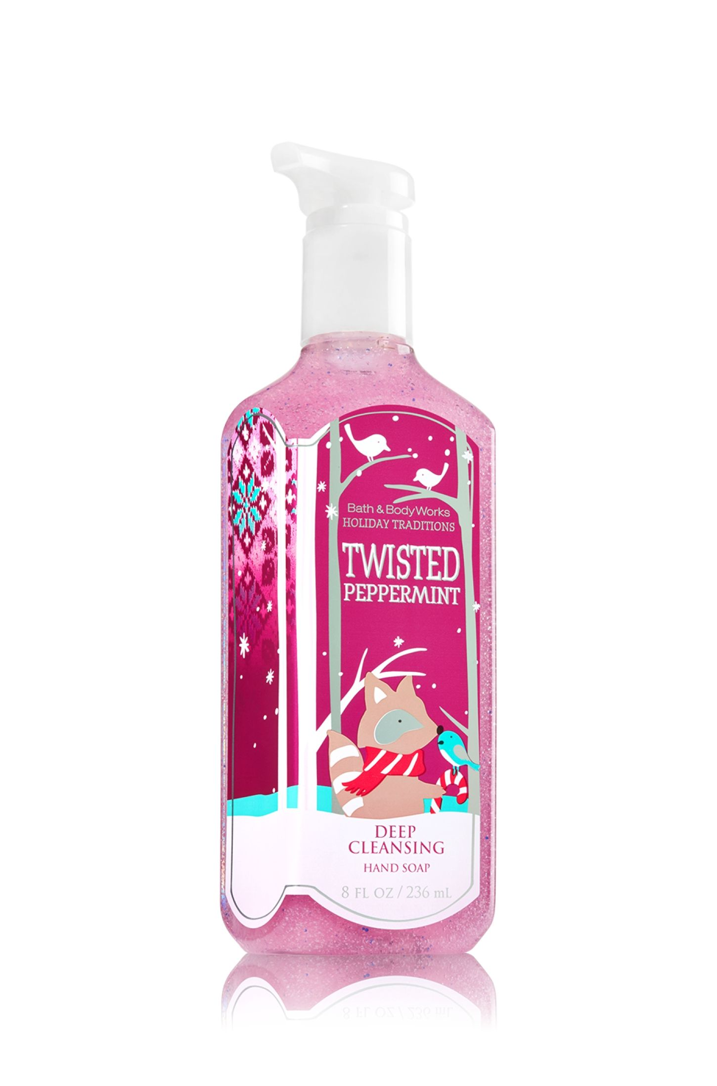 Twisted Peppermint Sanitizing Hand Gel Soap Sanitizer Bath