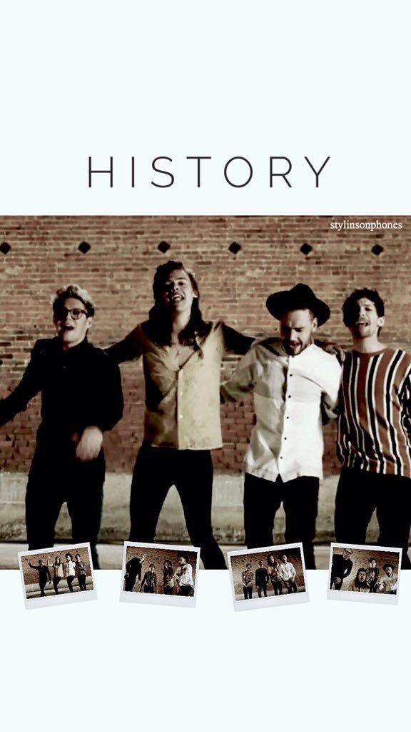 """Photo of One Direction """"History MV"""" Lockscreen • ctto: @stylinsonphones"""