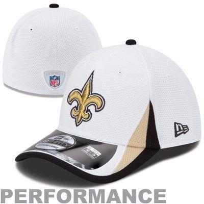 New Era New Orleans Saints 2013 Training 39THIRTY Hat - White  8998ddc7280c