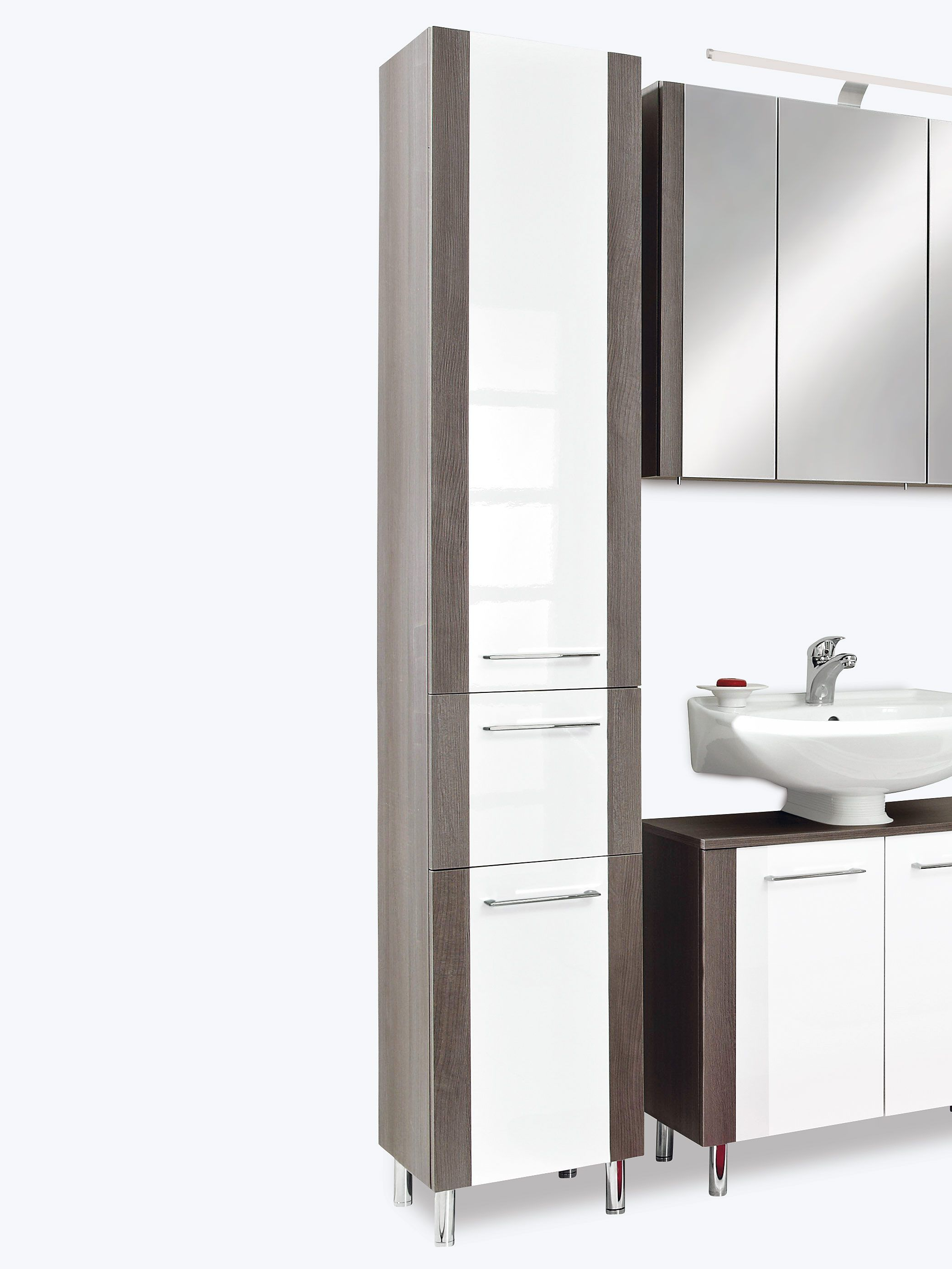 Ostermann Badezimmerschrank Badezimmer Einrichtung Hochschrank