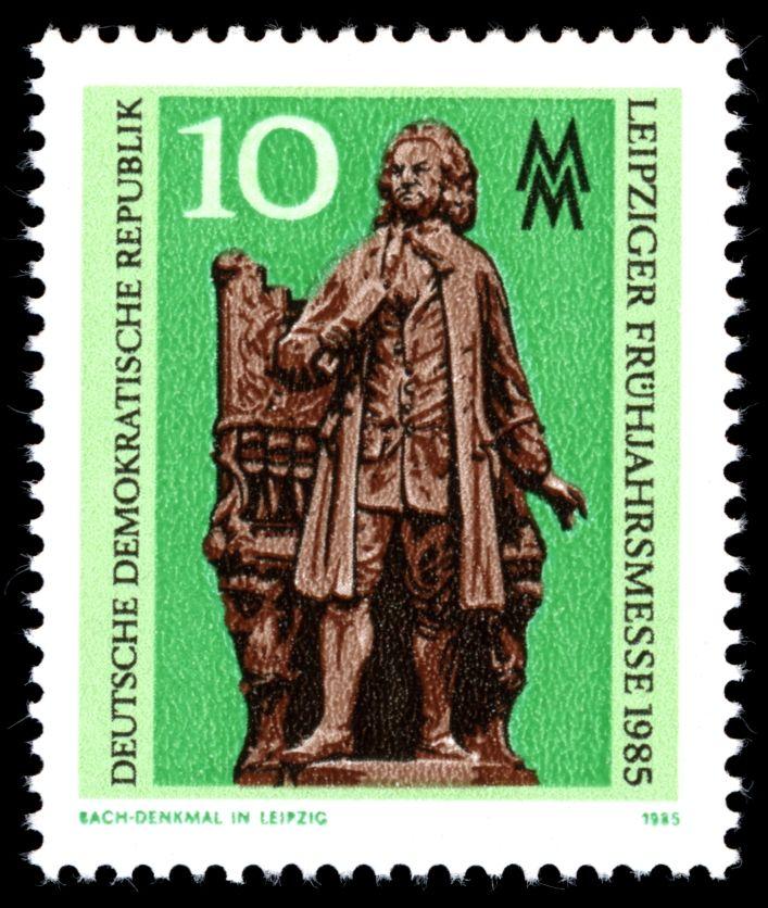 Stamps of Germany (DDR) 1985 Leipziger Frühjahrsmesse