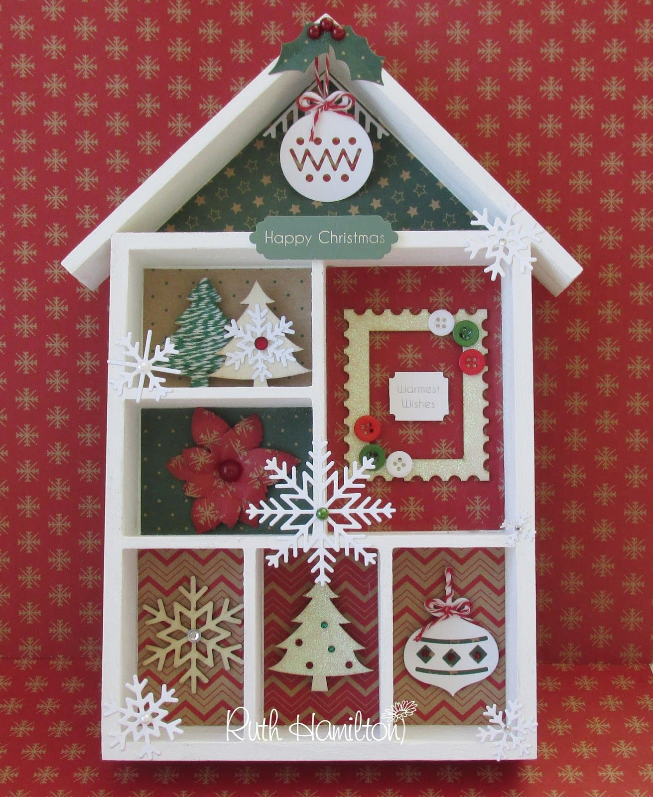 Dovecraft Christmas Basics From Trimcraft  How To Decorate A
