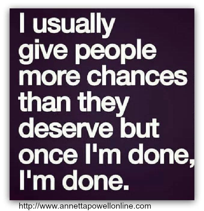Everyone reaches a breaking point, it's safe to say I have definitely reached mine! Done with petty drama and fake people. So over it!