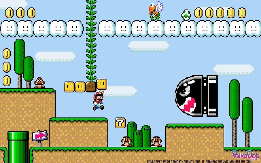Super Mario Background 71 Full Hd Graphics Super Mario Nintendo Super Mario World Super Mario Bros