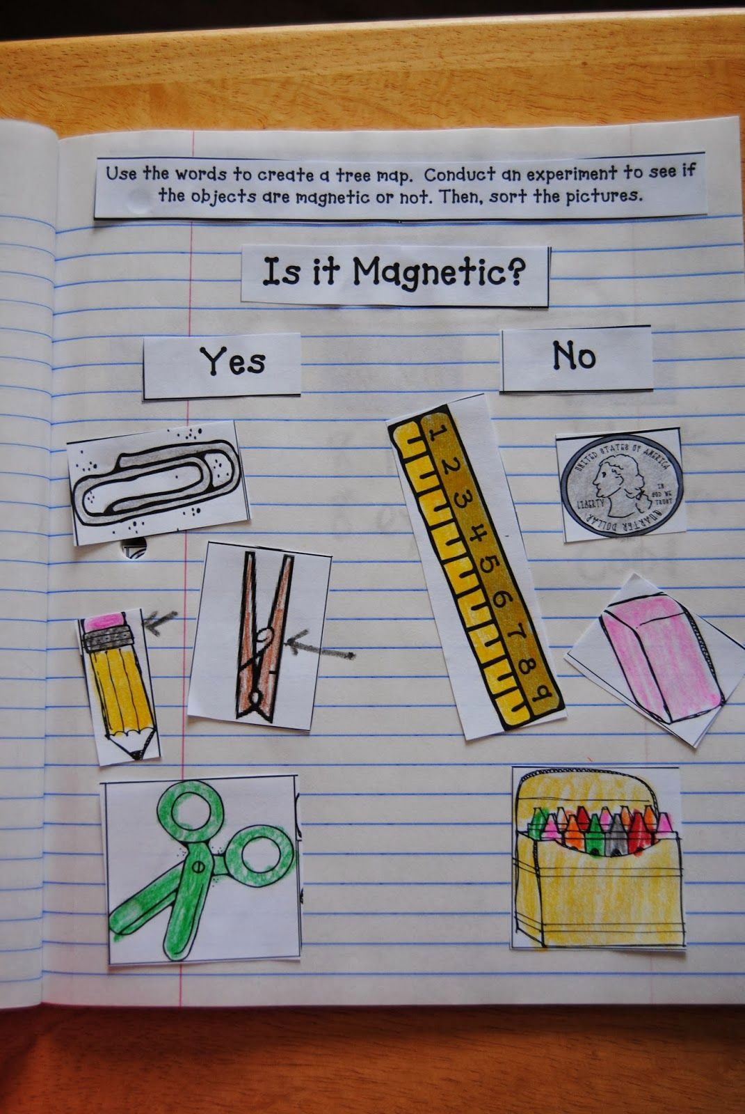 Get This Free Magnet Worksheet To Use When You Test The