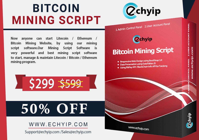 Select the ECHYIP bitcoin mining script, because their script