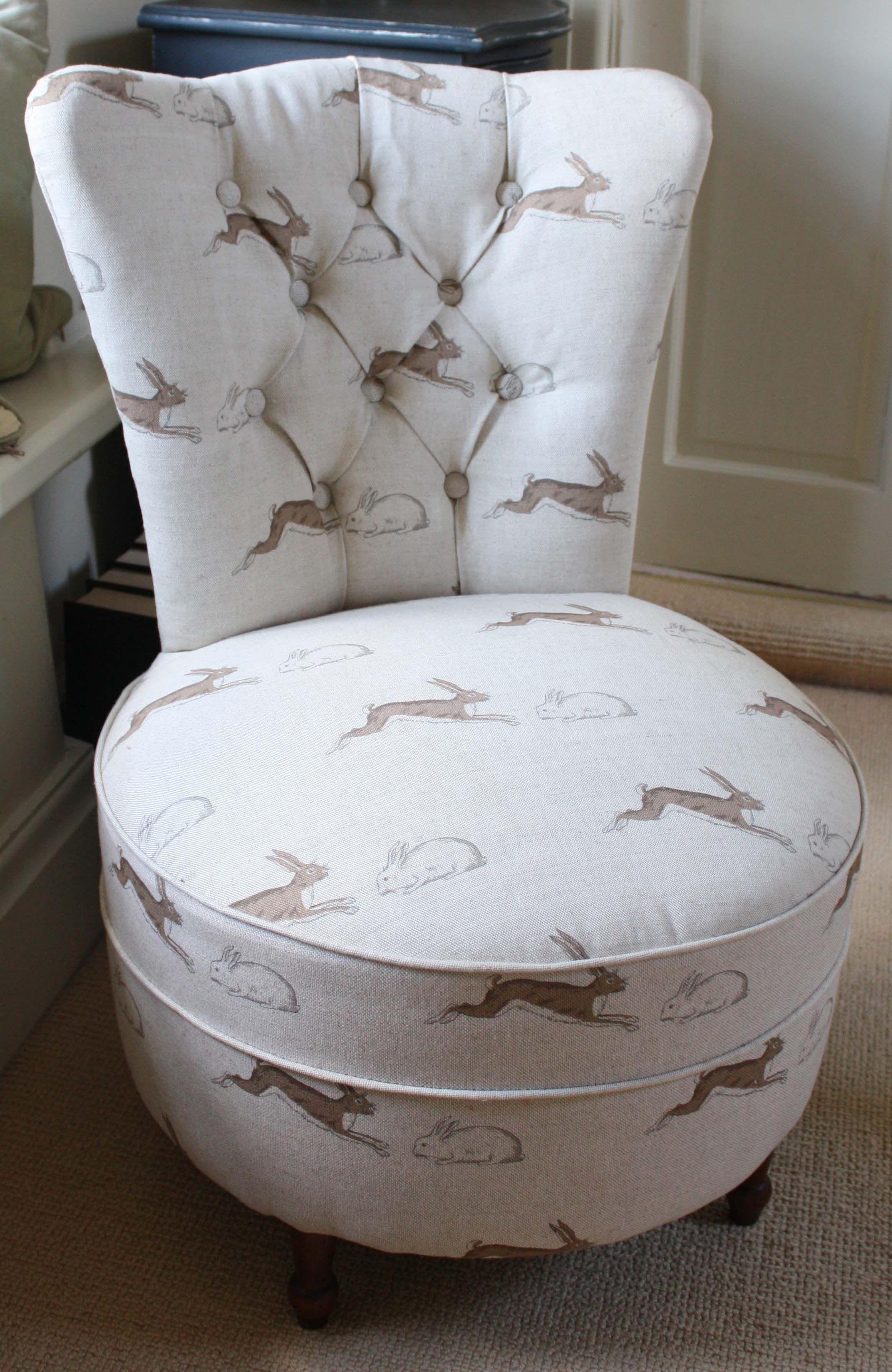 vintage bedroom chair  Bedroom chair, Upholstered bedroom chair