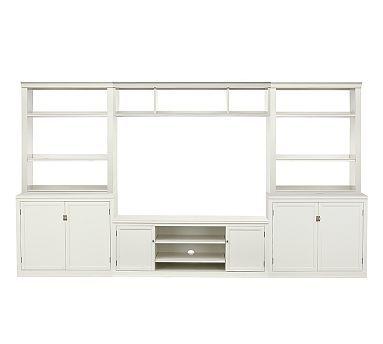 Logan Large Media Suite Potterybarn 3799 Furniture