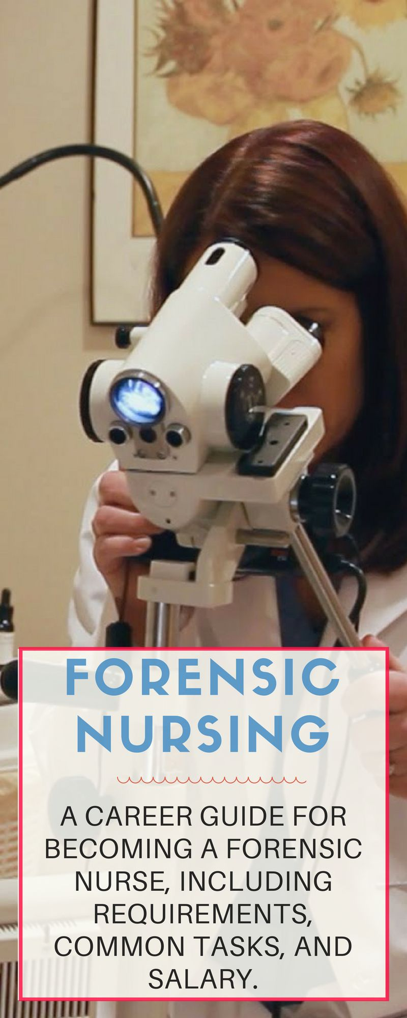 Learn More About The Field Of Forensic Nursing And Everything That It Takes To Enter This Field Nurse Practitioner Programs Forensics Nursing Students