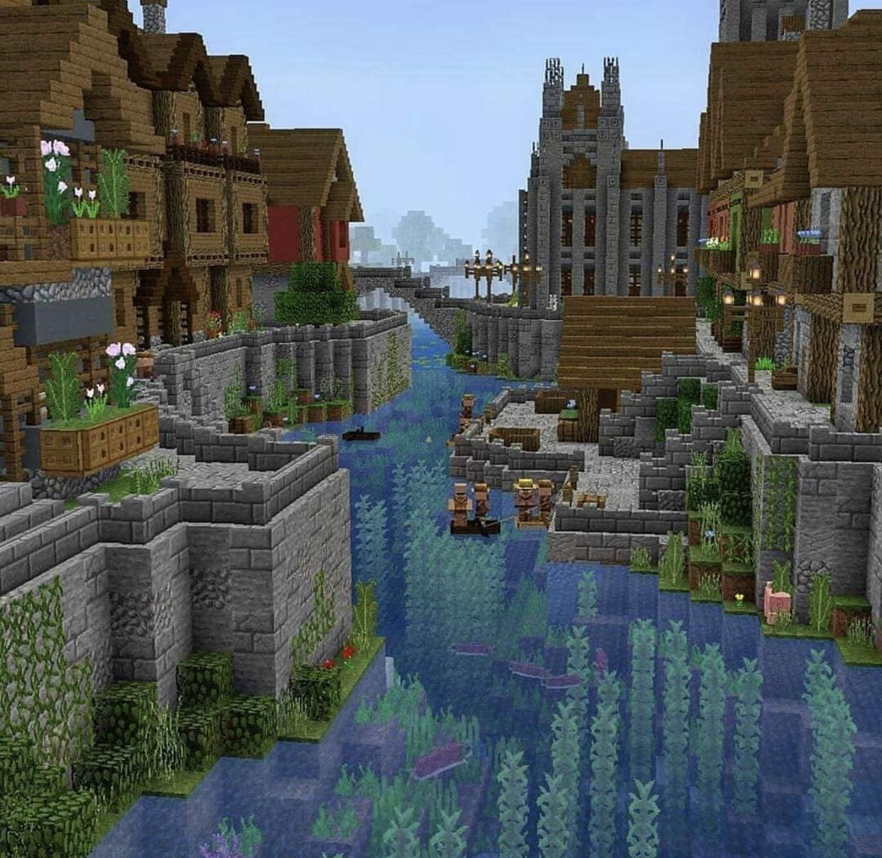 The village i want but am too lazy to make