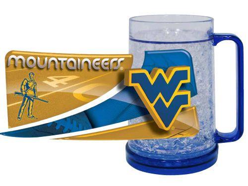 West Virginia Mountaineers Freezer Mug