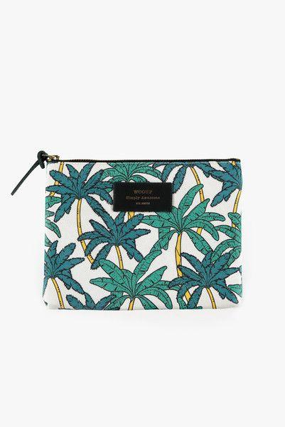 Pochette motifs palmiers - Woouf