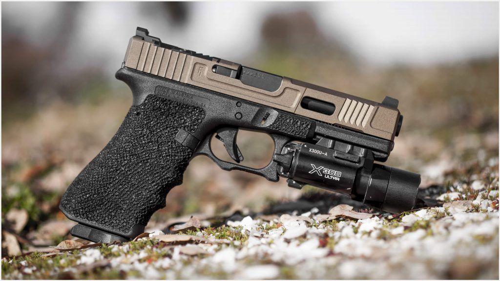 Glock Gun 4K Wallpaper