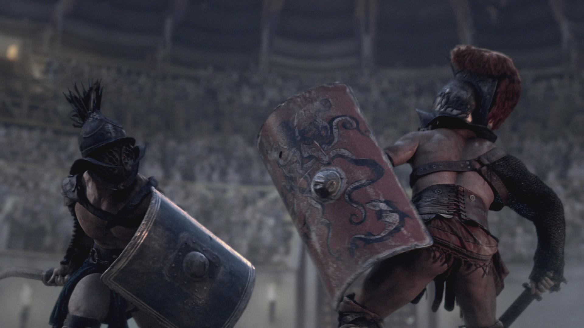 Gladiator vs history