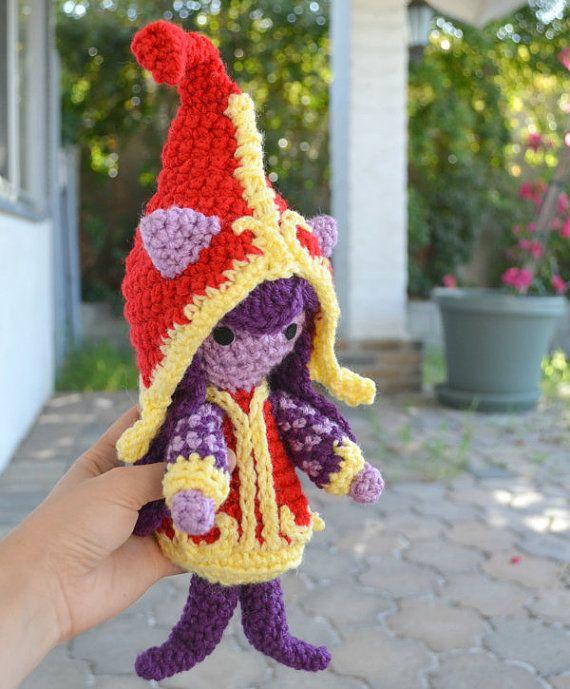 Lulu Amigurumi Pattern League of Legends au Crochet par amiamour ...