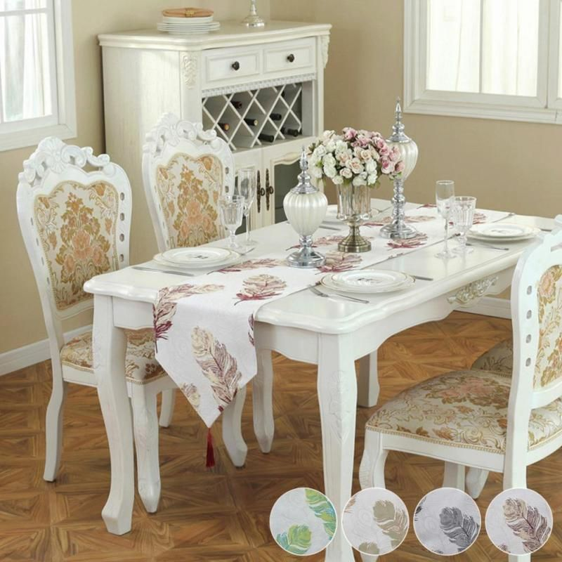 Decorating Fabric Table Runner With Tassels Gorgeous Imitation Leather Table Runners Tablec Dining Room Table Runner Long Dining Room Tables White Dining Table