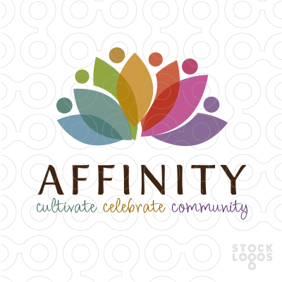 Affinity Community Logo Lotus Logo Natural Logo Community Logo