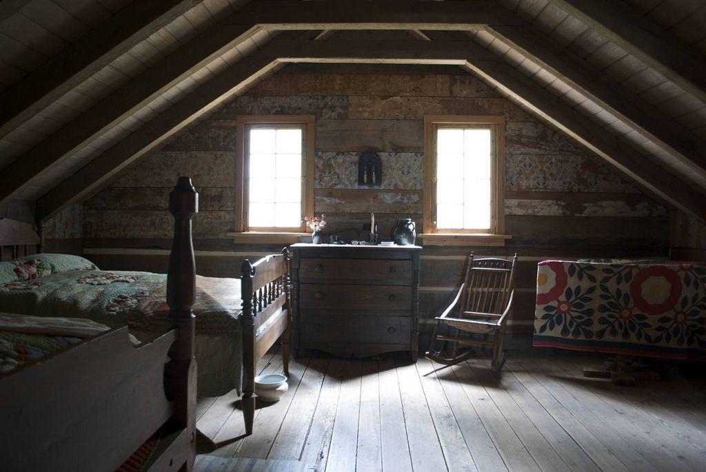 Upstairs | Attic renovation, Attic remodel, Attic