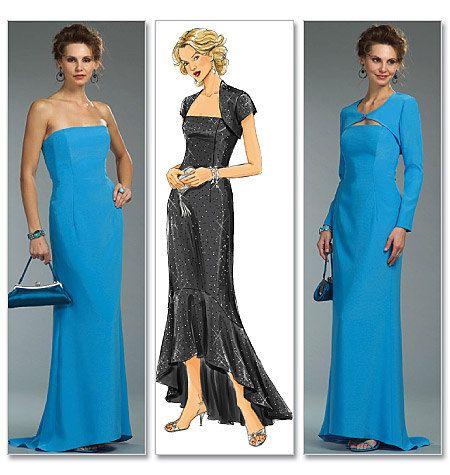 Formal dress - Bridesmaids dress - Misses\'/Misses\' Petite Shrug and ...