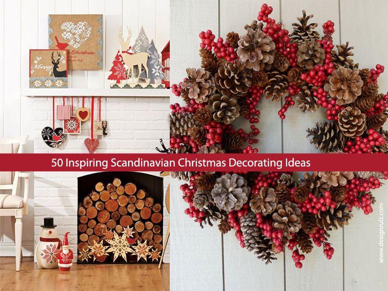 50 Inspiring Scandinavian Christmas Decorating Ideas | DesignRulz ...