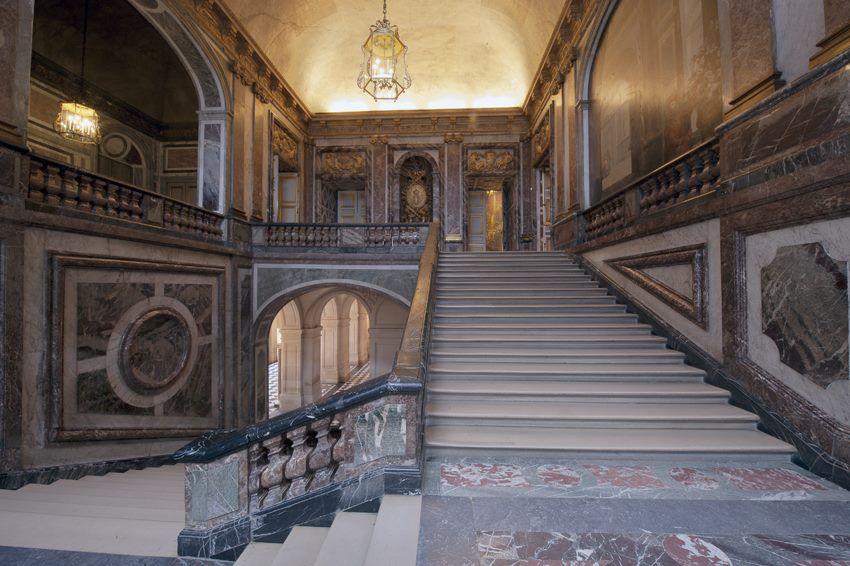 Versailles, Queen's stairs