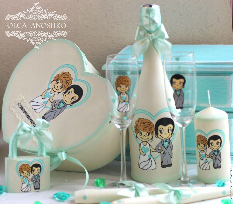 Набор свадебный купить