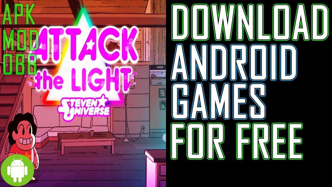 download steven attack the light apk