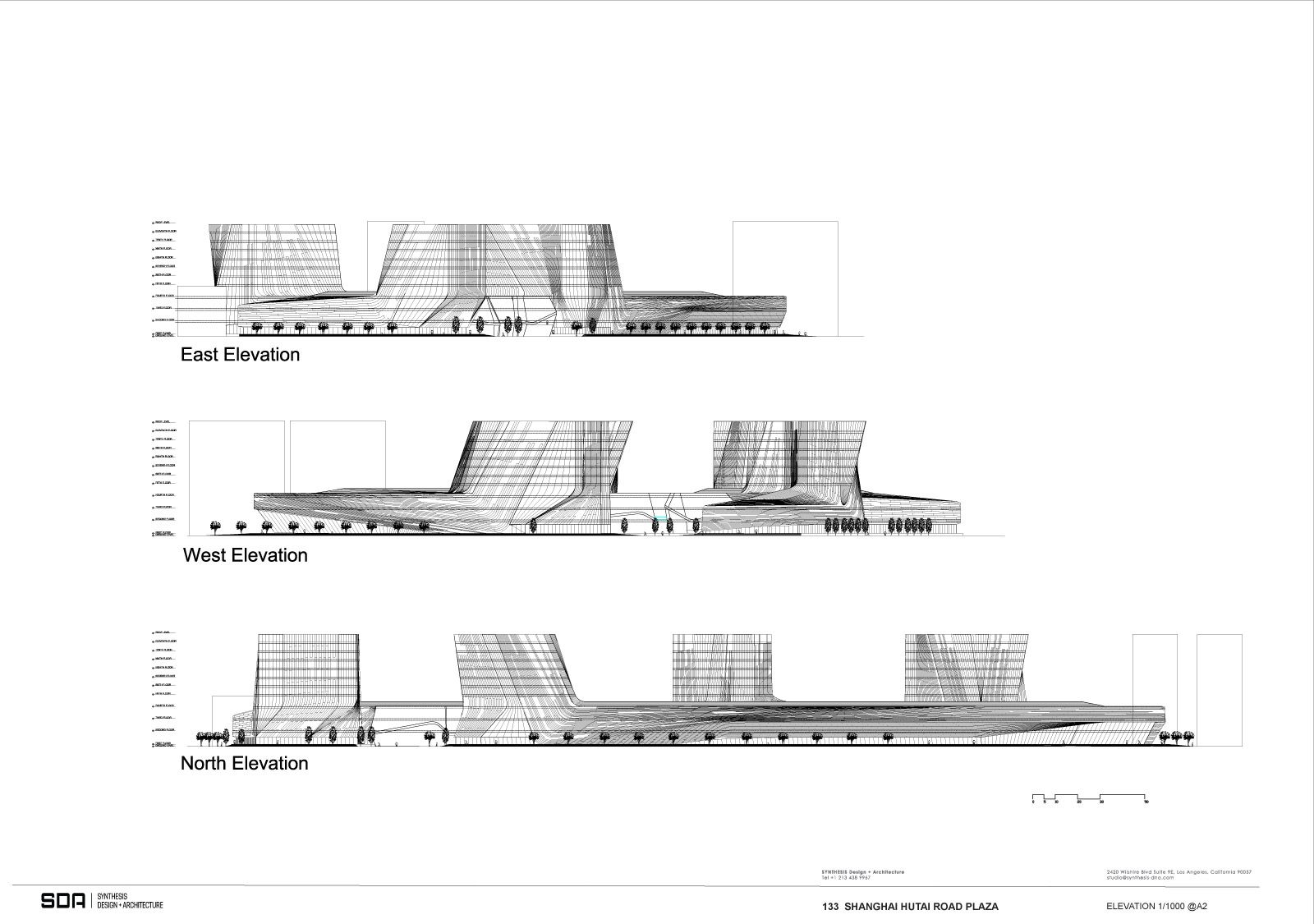 SDA wins 1st prize in the Shanghai Wuzhou International Plaza design competition! - Arch2O.com
