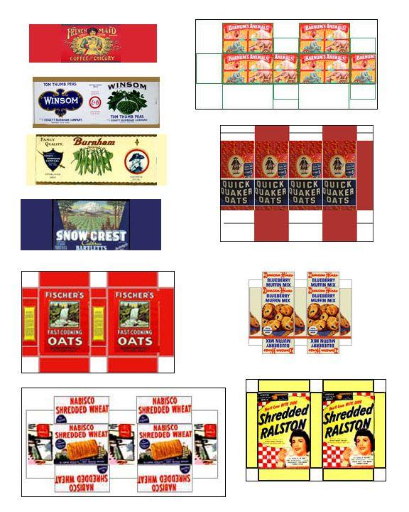 vintage food labels printables lulus kitchen - Lulus Kitchen