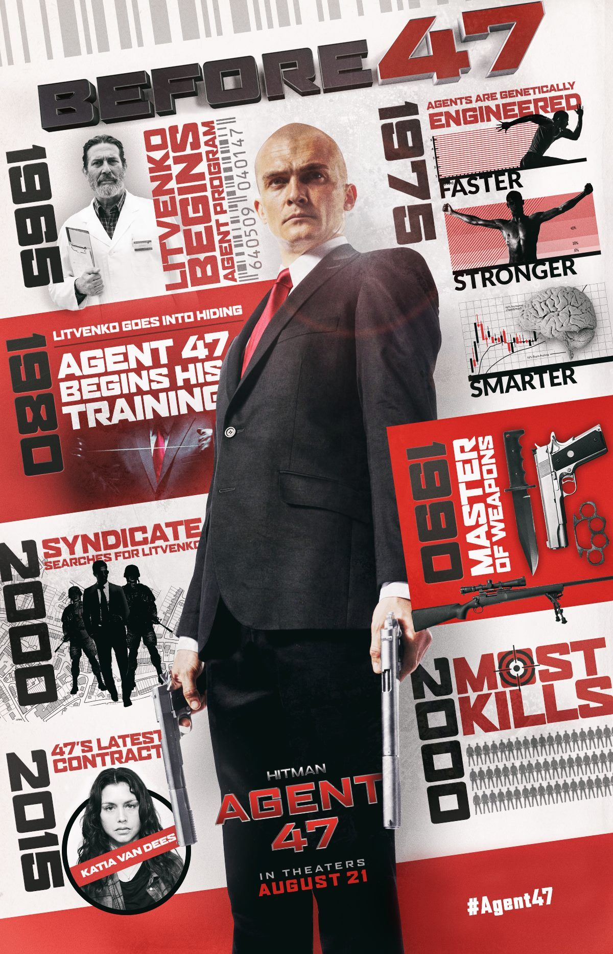 Alternative Posters For Hitman Agent 47 Hitman Agent 47