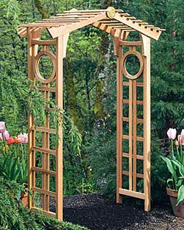 Longevity Cedar Garden Arch Garden Arbor Gardener S Supply