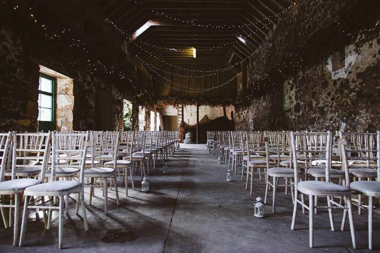 Rustic Barn Wedding Ceremony Venue In Scotland Fife Pratis Farm