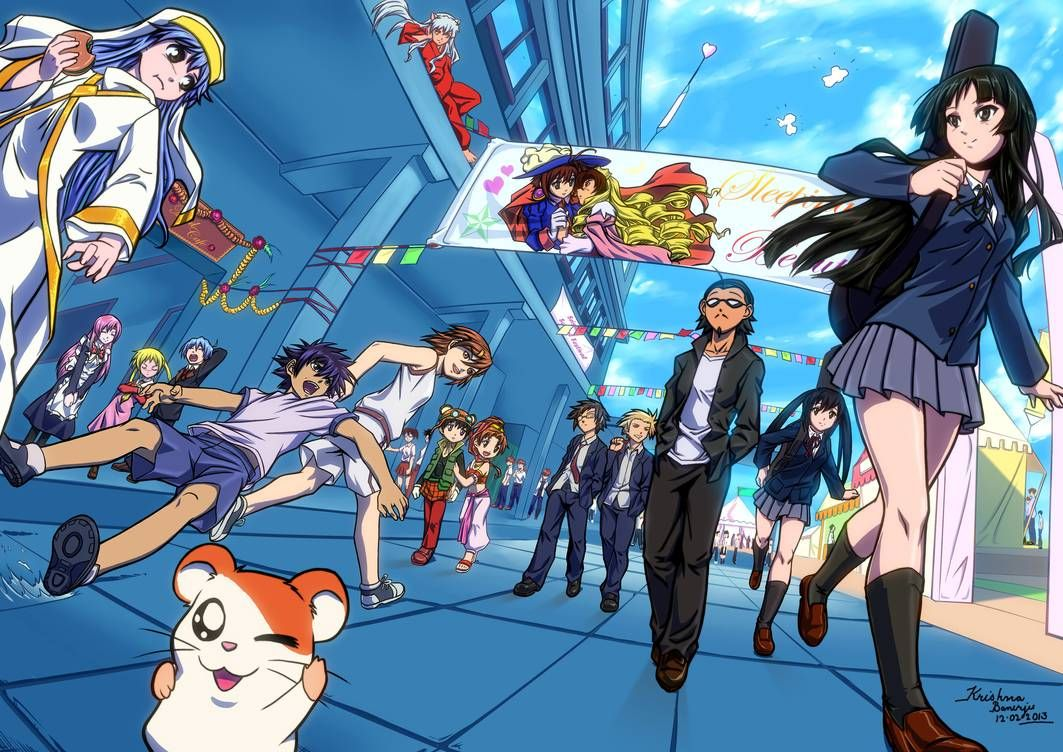 Entry for a contest by xong Anime, School rumble, Me me