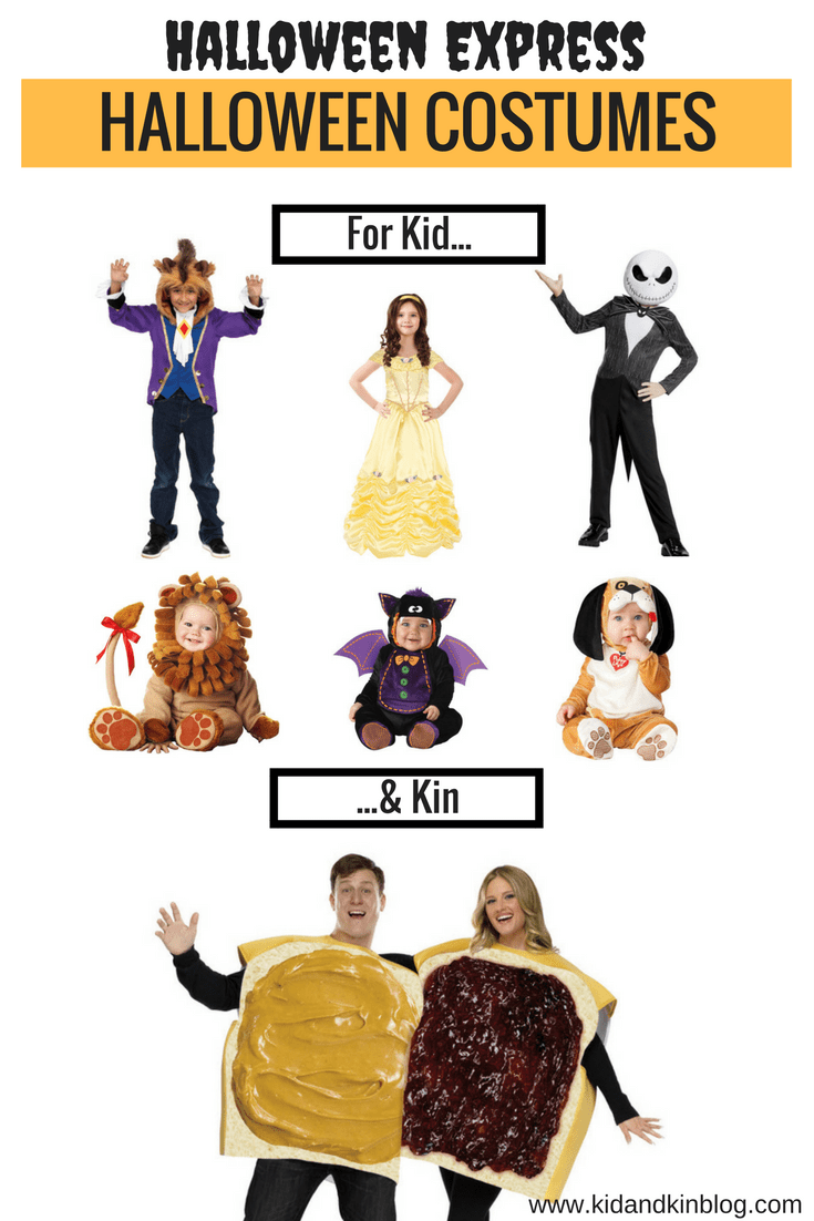 favorite halloween express costumes for kids and adults! look at