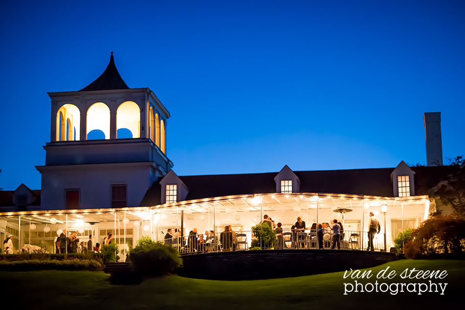 A Moonlit Wedding Reception At The Orchard Lake Country Club In Village Michigan