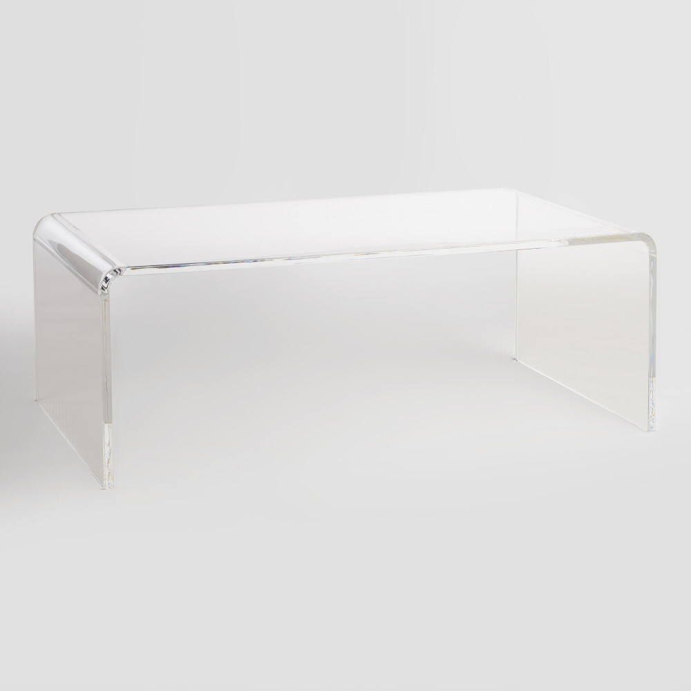 Clear Acrylic Thad Coffee Table World Market Acrylic Coffee Table Clear Coffee Table Coffee Table [ 1000 x 1000 Pixel ]