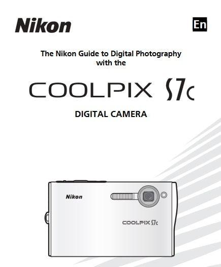 Nikon Coolpix S7c Manual