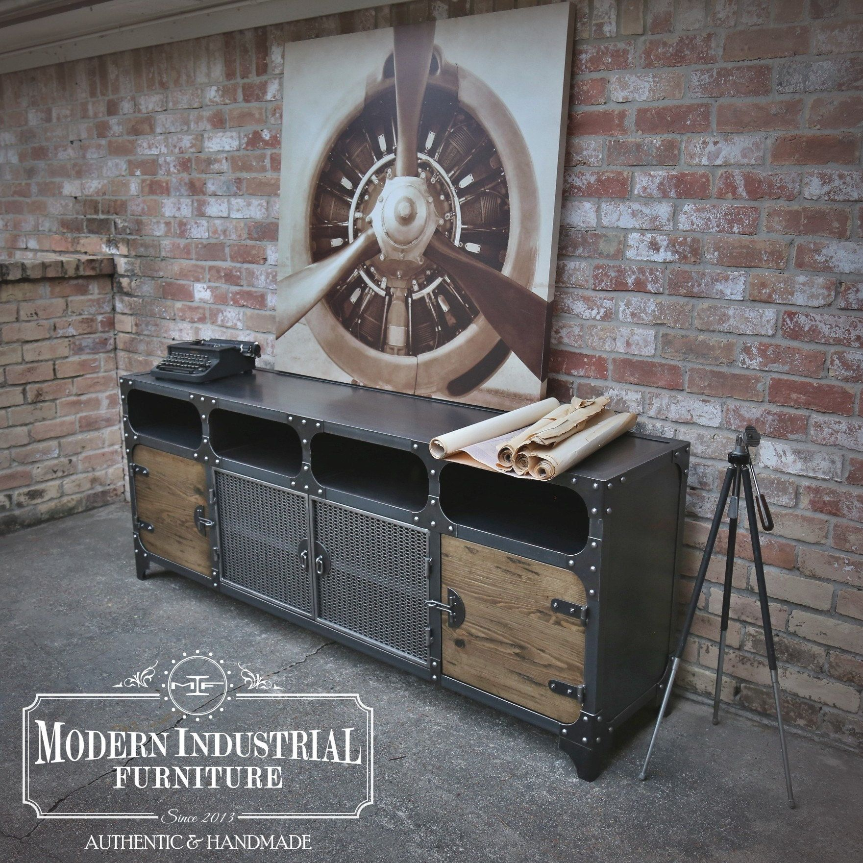 Modern Industrial Furniture by ModIndustrial on Etsy