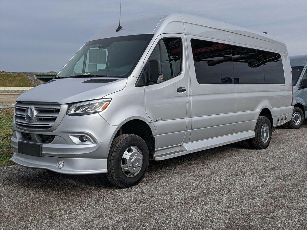 2019 MercedesBenz Sprinter Extended Cargo Van 170 in. WB