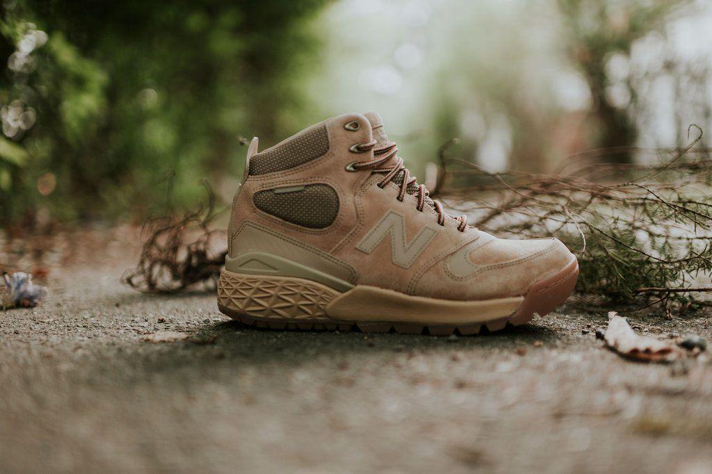 New Balance HFLPXBW: Tan/Gum   Boots