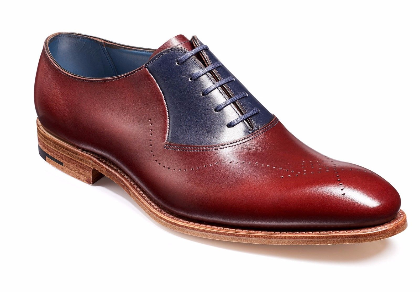 Handmade Men Oxford Dress Shoes Burgundy Navy Leather Suede Formal Tuxedo Shoes Dress Formal Leather Oxford Shoes Suede Leather Shoes Genuine Leather Shoes