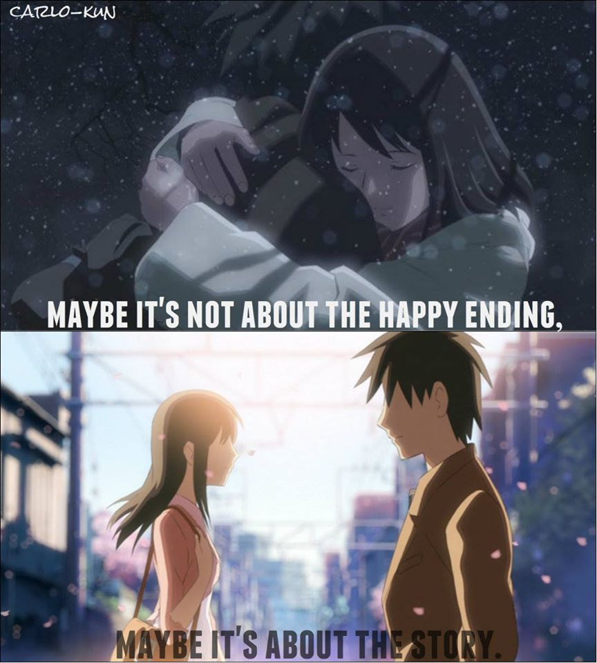 The story of my life anime5 centimeters per second